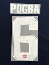2017/18 MANCHESTER UNITED HOME CHAMPIONS LEAGUE #6 POGBA HOME NAME SET