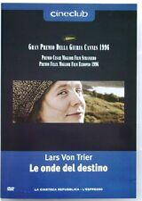 Dvd Le Onde del destino di Lars von Trier 1996 Usato editoriale raro
