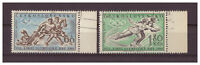 Tschechoslowakei, Olympische Winterspiele MiNr. 1183 - 1184, 1960 used SR