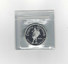 *2012 Anniv. Calg. Stampede*Coin Mart Graded Canadian Dollar**PF-68 UHC Silver**