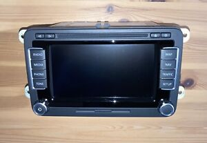 VW Navi RNS 510 DAB Navigation 1T0 035 686 E dab+ 32 GB HDD SD 1T0035686e