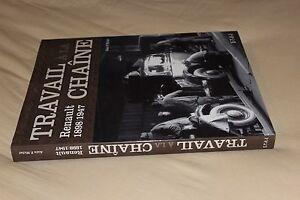 (163A) Travail à la chaîne Renault 1898/1947 / Alain P.Michel / ETAI
