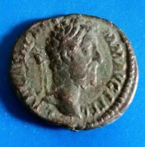 Roman bronze limes denarius Marcus Aurelius 161-180 AD