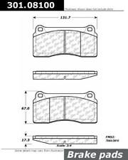 Disc Brake Pad Set-Premium Ceramic Pads with Shims Front,Rear Centric 301.08100