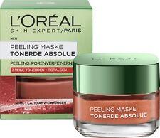 *NEU* Loreal Skin Expert PEELING MASKE 3 reine Tonerden mit Rotalgenextrakt