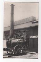 The Agenoria Locomotive Railway Museum York Vintage RP Postcard 968b