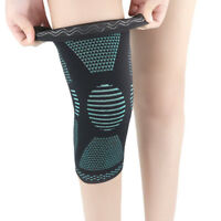 Knee Brace Support Patella Compression Running Leg Sleeve Sports Protector Mat