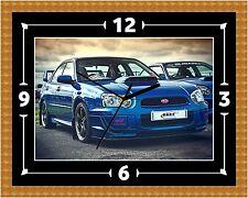 Subaru Impreza WRX Reloj Regalo Presente Navidad Cumpleaños (personalizable)