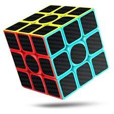 CFMOUR Rubiks Cube, Rubix Cube Speed Cube 3x3x3, Smooth Magic Carbon Fiber St...
