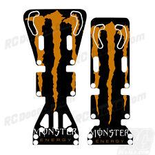 T-Maxx / E-Maxx INTEGY Skid Plate Protectors Monster- Orange - Traxxas