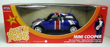 Ertl 1/18 escala 33593 Austin Powers BMW Mini Cooper Union Jack Coche Modelo Diecast