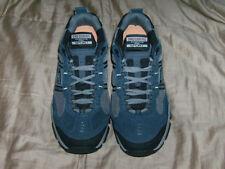 Men's Skechers Shoes Navy Memory Foam Sport Comfort Sneaker  W51241 Sz 9W NEW.