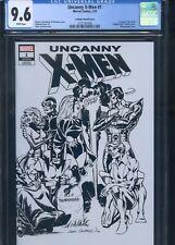 Uncanny X-Men #1 CGC 9.6 Cockrum Sketch Cover