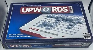 Upwords the 3D Word Building Game Deluxe Edition Board Game Parker 2007