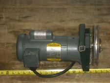 BALDOR MOTOR GLP3336 1/3HP, 1725RPM, 1PH, 60HZ, W/Browning BK75H Sheave/Pulley