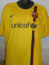 BARCELLONA away shirt (2008/2009) XXL Men's #158