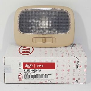 Genuine 928704D500TW Interior Overhead Room Lamp Beige For KIA SEDONA 2008-2015