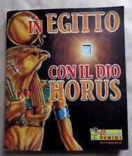 IN EGITTO CON IL DIO HORUS  PANINI  ALBUM  MANCANTE DI 31 FIGURINE SU 144