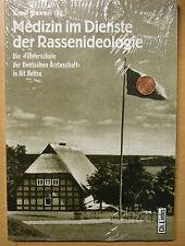 Medizin im Dienste der Rassenideologie Führerschule Deutschen Ärzteschaft Buch
