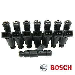 8 Bosch Gen III Fuel Injectors Chevy GM 7.4 454cid OEM Upgrade NEW Add HP Torque