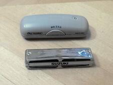 Suzuki Pro Master Mr 350Harmonica With Case 10 holekey C