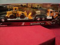 New-Ray Kenworth W 900 with lowboy trailer  1/32 scale