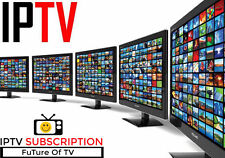 6 MONTHS IPTV Subscription 5000+ TV Channels+VOD (Smart TV,iOS,Android,Kodi,MAG)