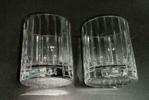 """2qty ROGASKA AVENUE Double Old Fashioned 4"""" tall EUC Watermarked"""