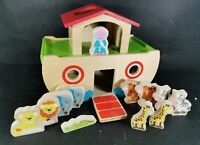ELC Wooden Noahs Ark with Wooden Animals