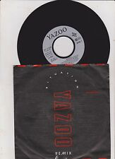 "Situazione Remix Yazoo 7"" Vinyl single record D yaz4 1990 mute"