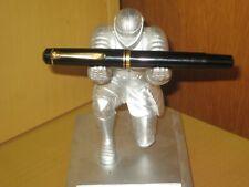 Vintage Pelikan M250 Black GT Fountain Pen With Piston Filler.West Germany.Good