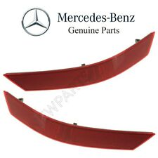 For Benz W164 ML-Class Pair Set of Rear Left & Right Bumper Cover Reflectors OES
