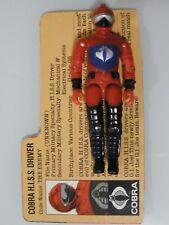 1983 Gi Joe Cobra H.I.S.S. Driver F