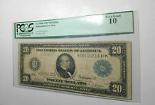1914 Fr.1006 USA $20 DOLLAR UNITED STATES BANKNOTE DALLAS PCGS CIRCULATED