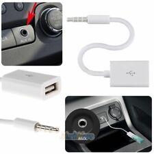 1x Car SUV MP3 3.5mm Male AUX Audio Plug Jack To USB 2.0 Female Converter Cable