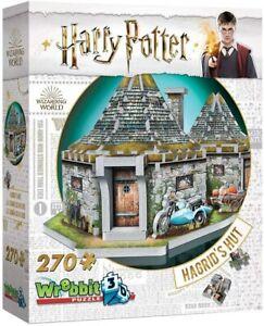 Wrebbit 3d Puzzle Harry Potter: Hagrid's Hut