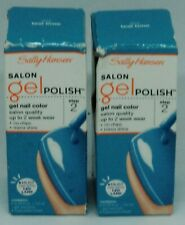 2 Sally Hansen Salon Pro Step 2 Gel Polish TEAL TIME #903 NIP