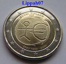 Finland 2 euro 10 jaar EMU 2009 UNC