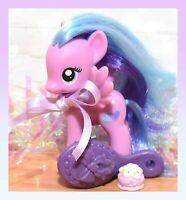 "❤️My Little Pony 3"" Brushable Playful Pony Flitterheart Heart Pegasus G4 RARE❤️"