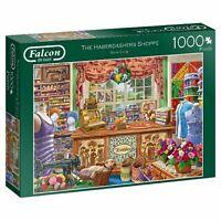 THE HABERDASHERS SHOPPE FALCON DE LUXE JIGSAW PUZZLE 1000 Pcs JUMBO 11256