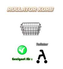 Einkaufskorb Rollatorkorb Rollator Korb TRAGEKORB Ersatzkorb Metallkorb NEU