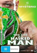C12 BRAND NEW SEALED WWE - Rey Mysterio : The Life Of A Masked Man (DVD, 2011)