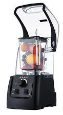 More details for berg 2200w 3hp commercial food blender smoothie maker sound enclosure - black