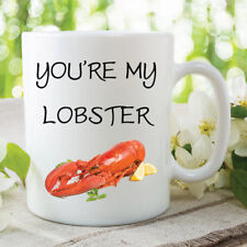 Lobster Mugs You're my Lobster Christmas Novelty Funny Joke Coffee Cup WSDMUG388
