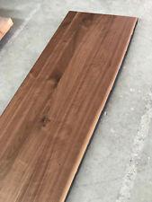 Waschtisch Tischplatte Platte Nussbaum Massiv Holz Baumkante Leimholz Theke NEU