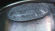 """Messingtrichter, """"Luftschiff- u. Flugmaschinen-Material Franz Sauerbier, Berlin"""""""