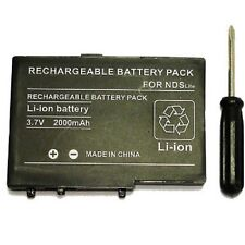 Battery for Nintendo DS Lite - USG-003 - 2000 MAH + Screwdriver