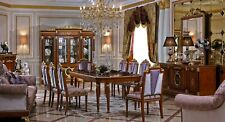 Dining Table+8 Chairs Chair Dining Room Complete Set Baroque Rococo Tables Table