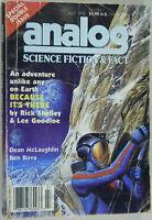 Analog Science Fiction / Fact, July 1992, Ben Bova, Dean McLaughlin, Lee Goodloe