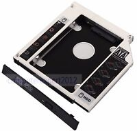 For HP ProBook 4540s 4545s 4740s New 2nd HDD HD SSD HARD DRIVE Caddy SATA 12.7mm